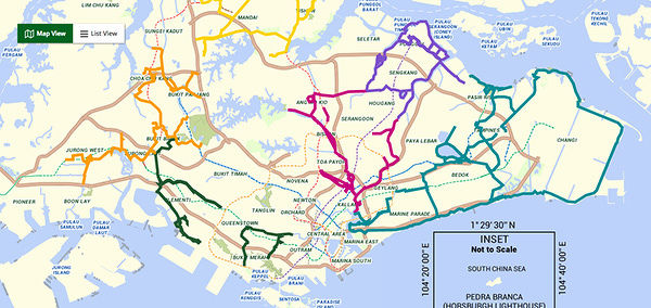 park connector network map - EDGEPROP SINGAPORE