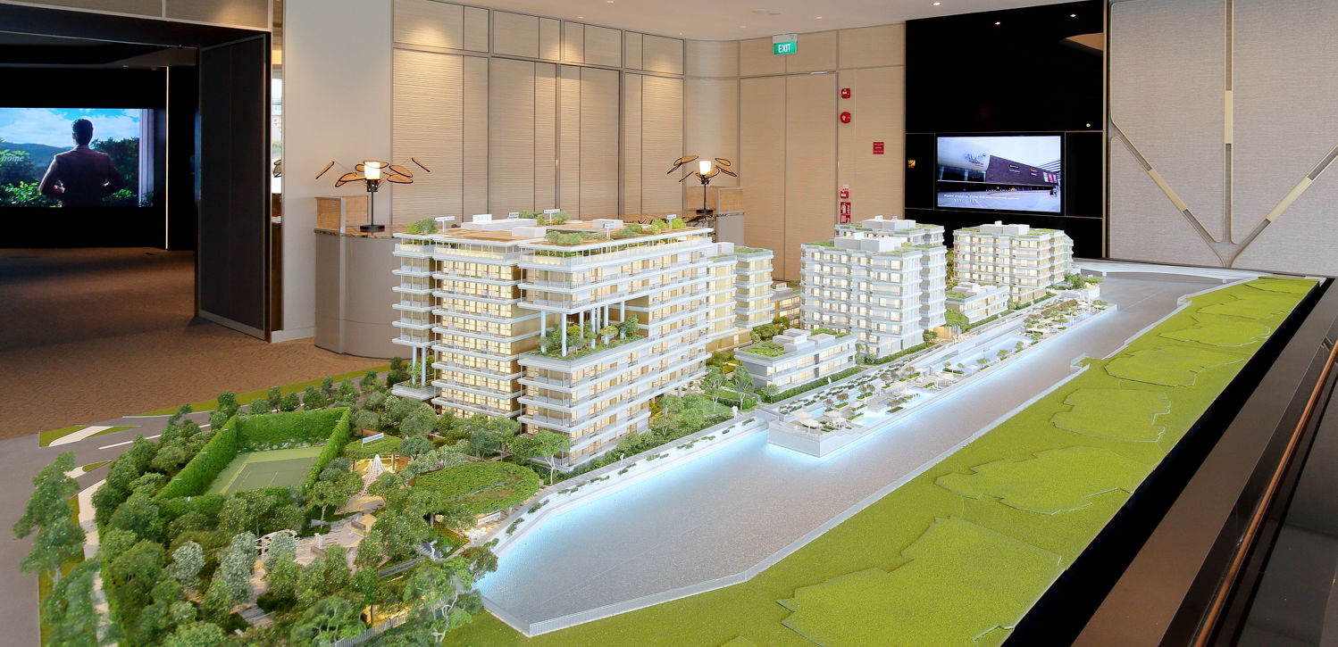 BLD-THE-REEF-AT-KING-S-DOCK-SCALE-MODEL - EDGEPROP SINGAPORE