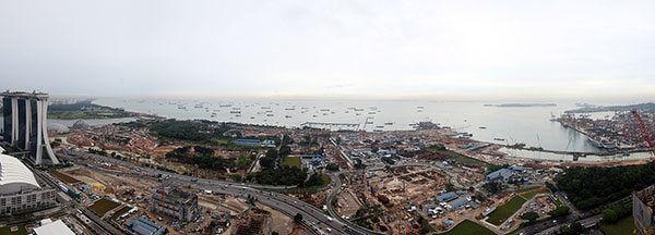 Marina Bay Residences towards Marina South - EDGEPROP SINGAPORE