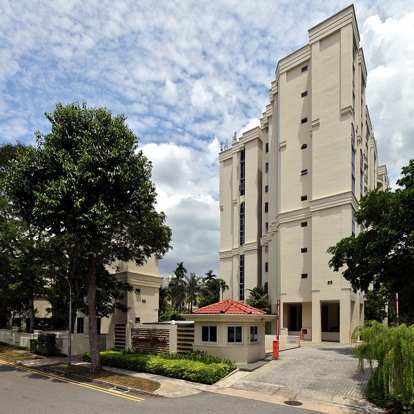 The seller of a resale unit at Dormer Park along Jervois Road made a 148% profit, or an annualised profit of 6% over nearly 17 years (Photo: Samuel Isaac Chua/EdgeProp)
