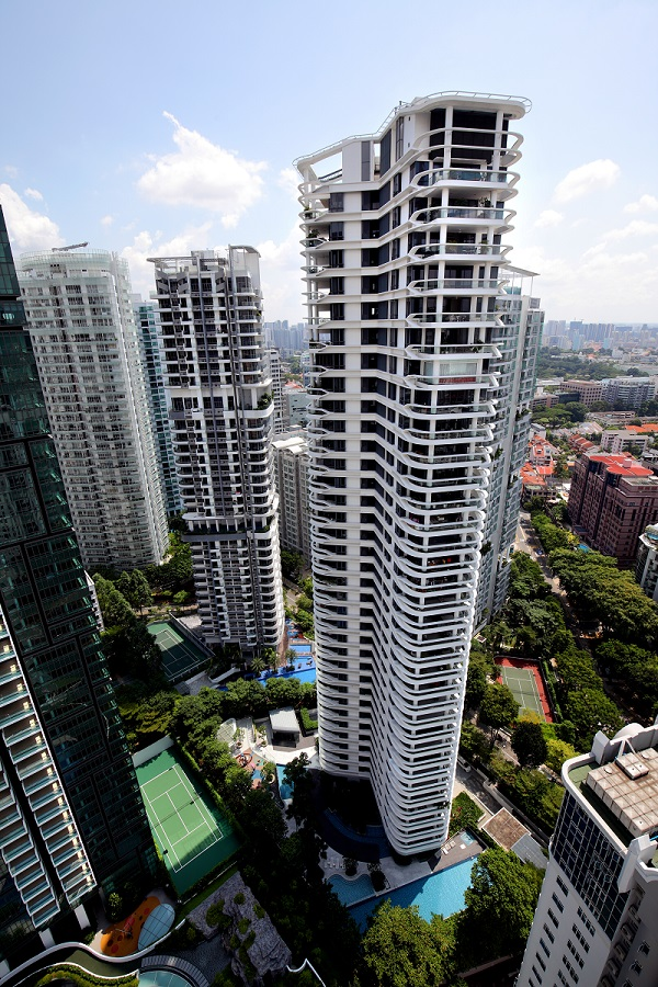 The greatest loss incurred over the week was from the resale of a 2,131 sq ft unit on the 26th floor at Skyline 360 @ Saint Thomas Walk (Photo: Samuel Isaac Chua/EdgeProp)