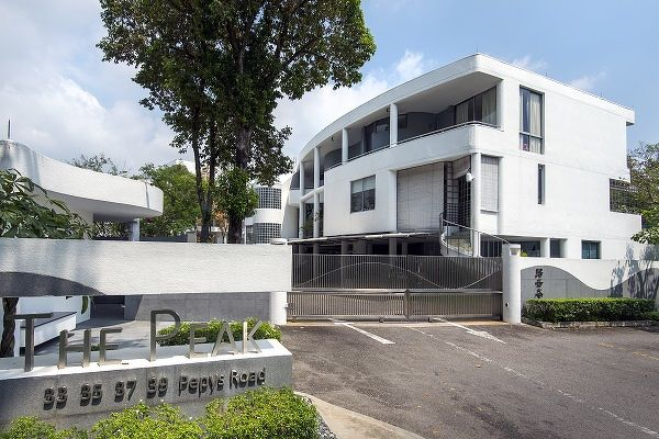 The Peak Pepys Road - A 5,500 sq ft unit on the basement floor at The Peak was sold for $6.8 million ($1,236 sq ft) on Feb 28, making a loss of $900,000 (Photo: Albert Chua/EdgeProp Singapore)