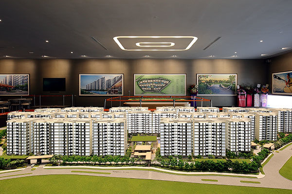 treasure at tampines - Treasure at Tampines was one of the developments in the OCR that sold below the median price of $1,600 psf (Photo: Samuel Isaac Chua/EdgeProp Singapore)