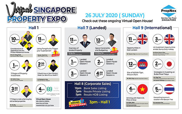 EDGEPROP SINGAPORE - PropNext Virtual Singapore Property Expo Halls