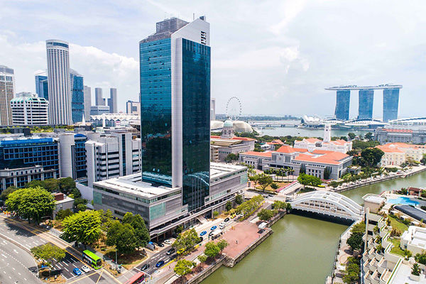EDGEPROP SINGAPORE - The 31-storey building fronts Hill Street, North Boat Quay and North Bridge Road (Photo: Cushman & Wakefield) - EDGEPROP SINGAPORE