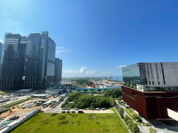 unblocked view from the unit - EDGEPROP SINGAPORE