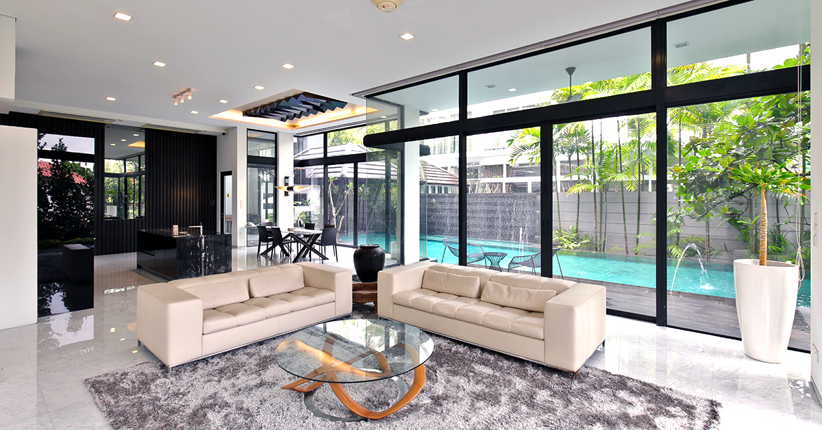 Interior of a bungalow in Singapore - how to tell how much your home is worth - EDGEPROP SINGAPORE