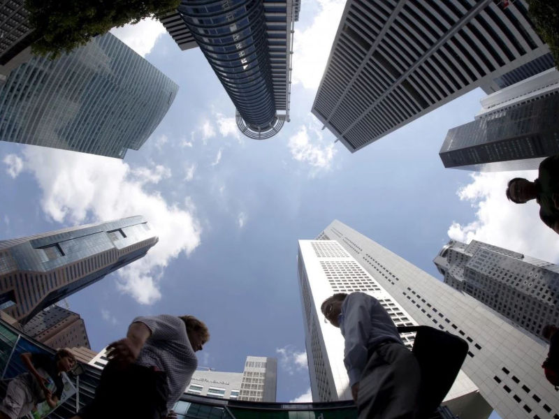 singaporean office rental cbd