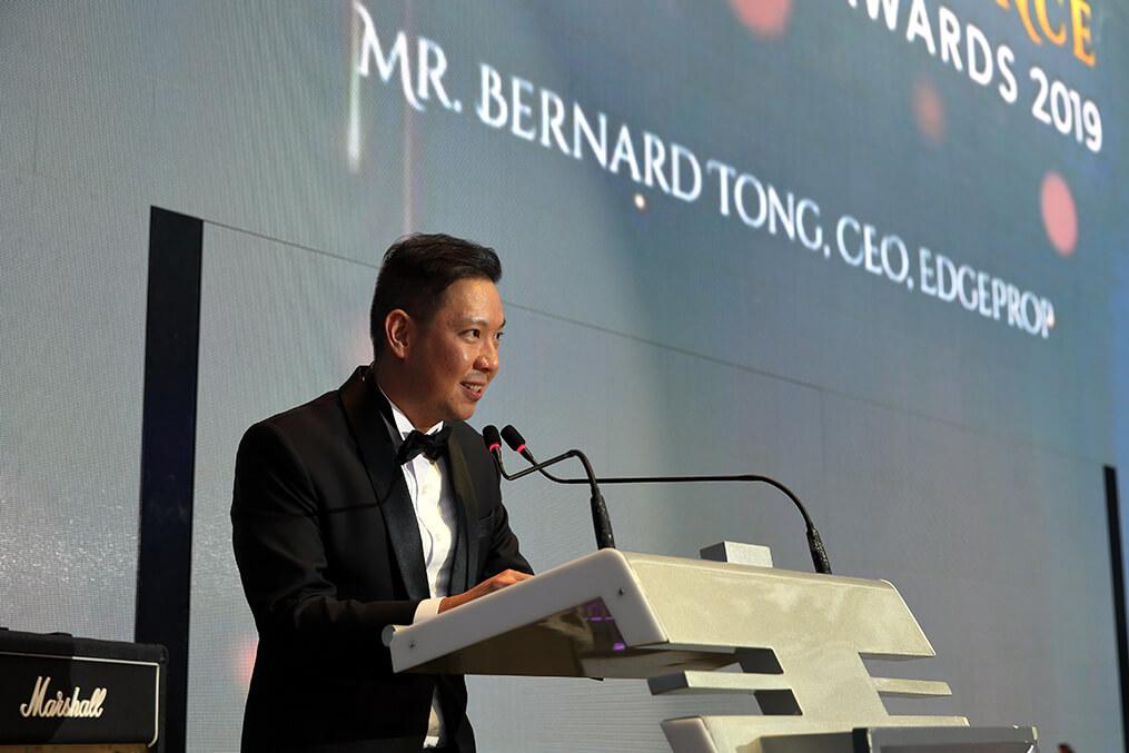 Bernard Tong, CEO, EdgeProp Singapore - EDGEPROP SINGAPORE