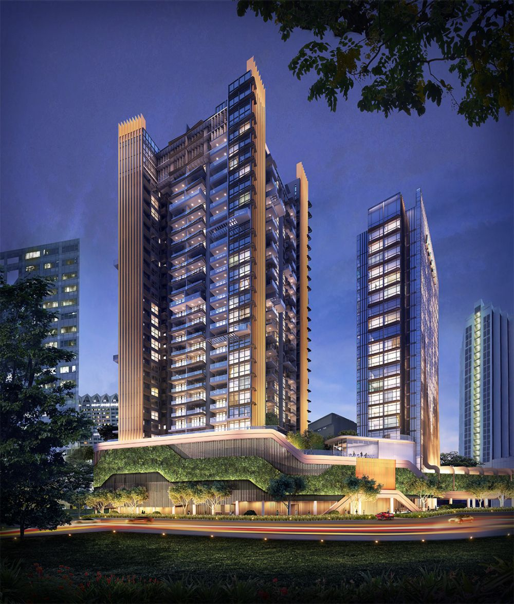 Cairnhill Nine is a 268-unit project located at Orchard Road