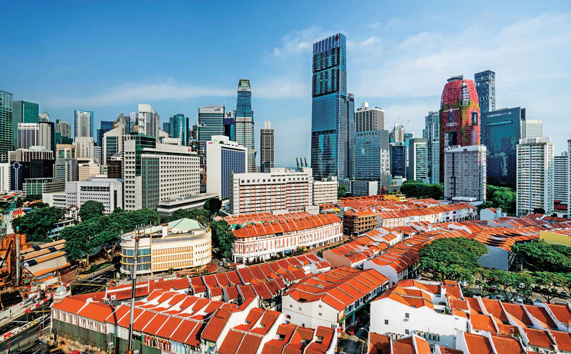 Wallich Residence contains just 181 luxury residences and spans the 39th to 64th floors of Tanjong Pagar Centre - EDGEPROP SINGAPORE