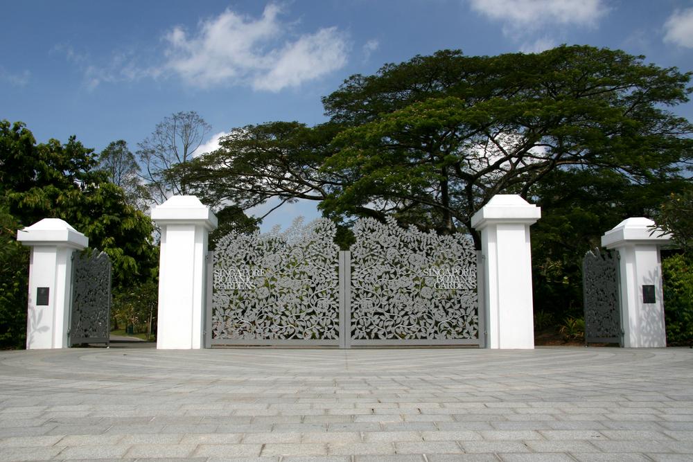 TANGLIN - Botanic Garden's Tanglin Gate. Image Credits: Shutterstock - EDGEPROP SINGAPORE