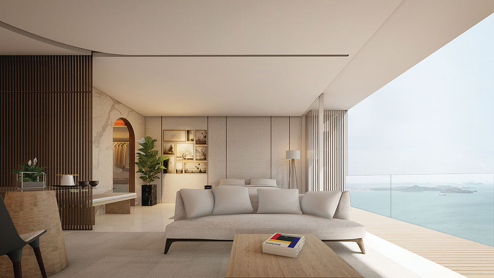 Opus Bay studios, one- to three-bedroom units designed by Singapore architects RT+Q (Artist's Impression) - EdgeProp Singapore - EDGEPROP SINGAPORE