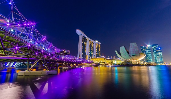 Singapore scores among the top five in development pipeline and lowest environmental risk, two of 12 factors used to rank data-centre market attractiveness (Shutterstock)