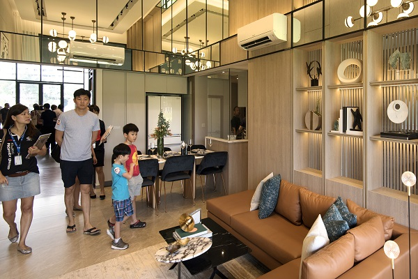 Each homeowner at Parc Canberra will also be given a Nespresso coffee machine in their unit. Kitchen appliances are from Bosch, while sanitaryware and fittings are Duravit and Hansgrohe (Credit: Albert Chua/ The Edge Singapore) - EDGEPROP SINGAPORE
