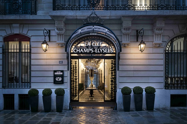 Ascott owns La Clef Champs-Élysées Paris through its 50:50 private equity fund with Qatar Investment Authority (Credit: CapitaLand) - EDGEPROP SINGAPORE