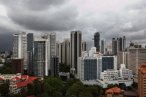 EDGEPROP SINGAPORE - The average psf prices of new homes in Singapore's Core Central Region fell 7% y-o-y in 1Q2020 (Credit: Samuel Isaac Chua/ The Edge Singapore)