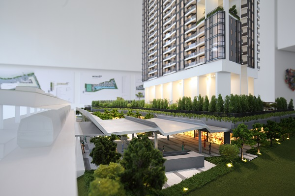 ARTRA - Artra will be linked to Redhill MRT Station by a covered walkway
