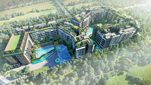 DAINTREE RESIDENCE - Occupying a site of 201,510 sq ft, Daintree Residence is surrounded by low-rise residential housing, and is a short walk to Beauty World MRT Station - EDGEPROP SINGAPORE