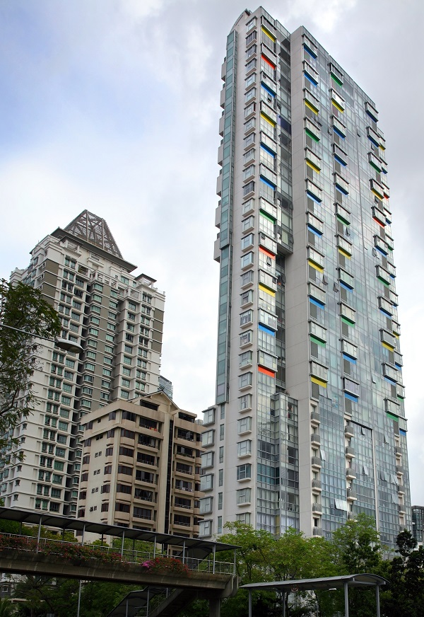 Strata, located in District 11, comprises 100 freehold units and was completed in 2006 (Credit: Samuel Isaac Chua/ The Edge Singapore)