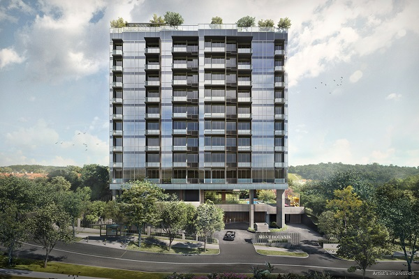 Mont Botanik Residence - Located on Jalan Remaja in District 23, Mont Botanik Residence overlooks the Hillview Garden Estate, a low-lying spread of landed properties