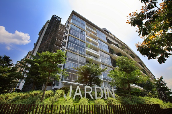 The greatest loss incurred over the week was from the resale of a 1,884 sq ft unit at Jardin in District 21 (Credit: The Edge Singapore)