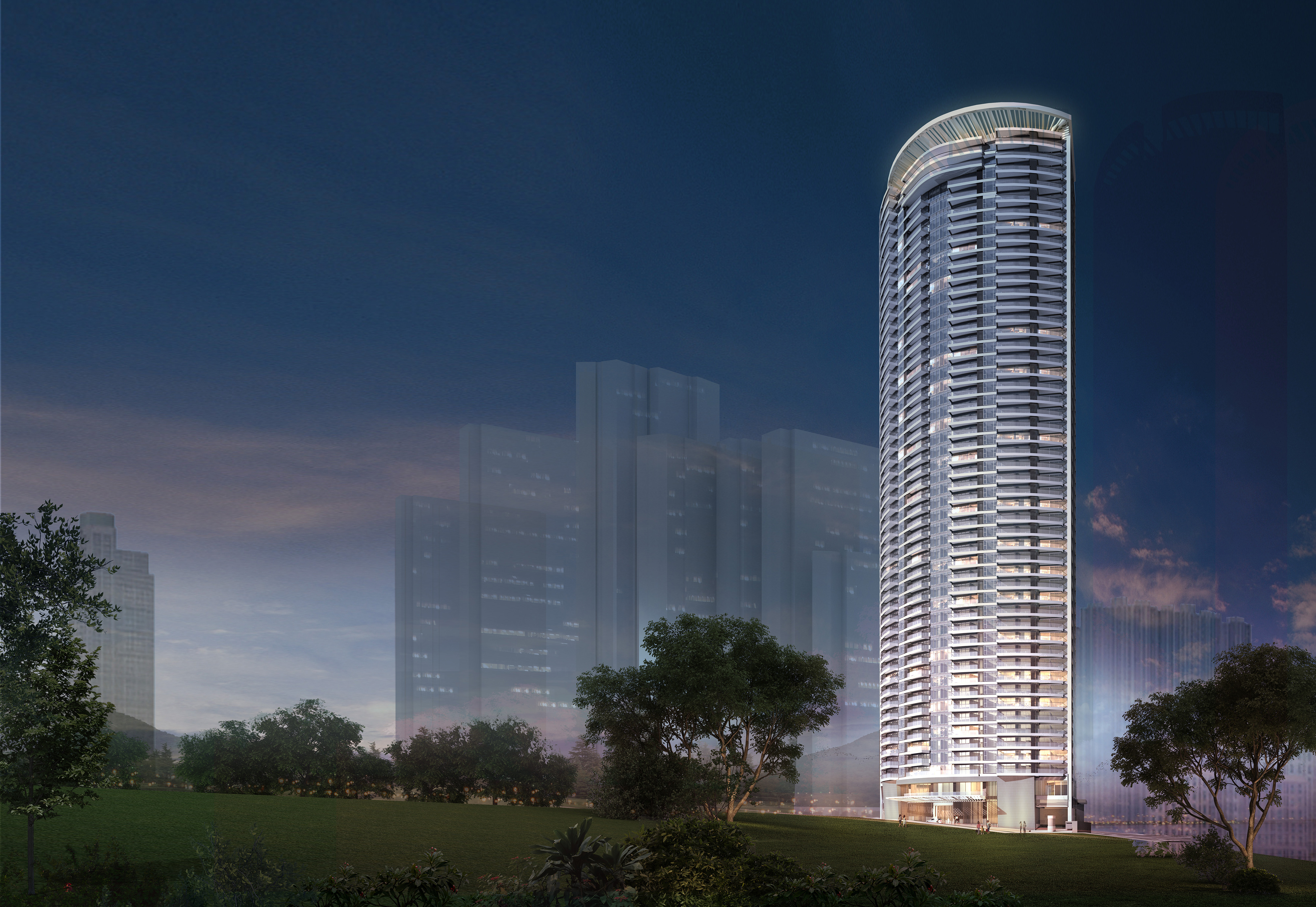 WACK WACK PHILIPPINES - Comprising 430 units, Shang Residences at Wack Wack spans 50 storeys that soar to 165 metres in height