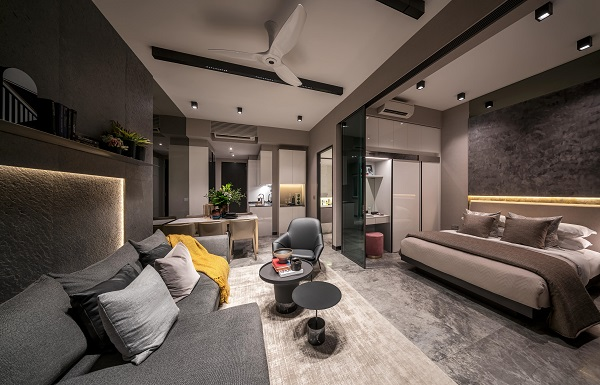 Show unit of a one-bedder - EDGEPROP SINGAPORE