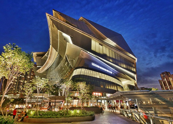 The Star Vista was valued at $262 million as at June 30 (Credit: CapitaLand)