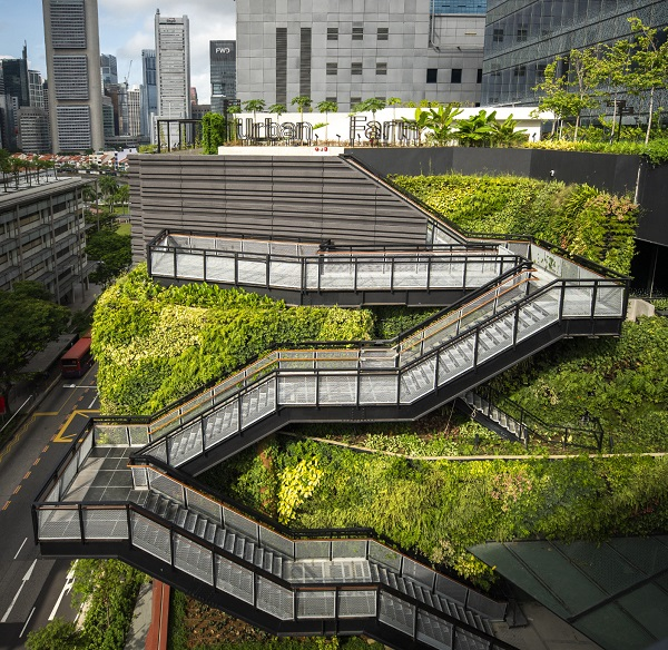 EDGEPROP SINGAPORE - Last year, property giant CapitaLand unveiled the revamped Funan mall, housing some 5,000 sq ft of urban farm on level 7 (Credit: CapitaLand) - EDGEPROP SINGAPORE