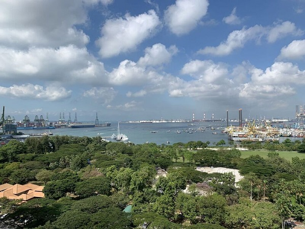 EDGEPROP SINGAPORE - View from the 861 sq ft unit at Seahill (Credit: Edmund Tie)