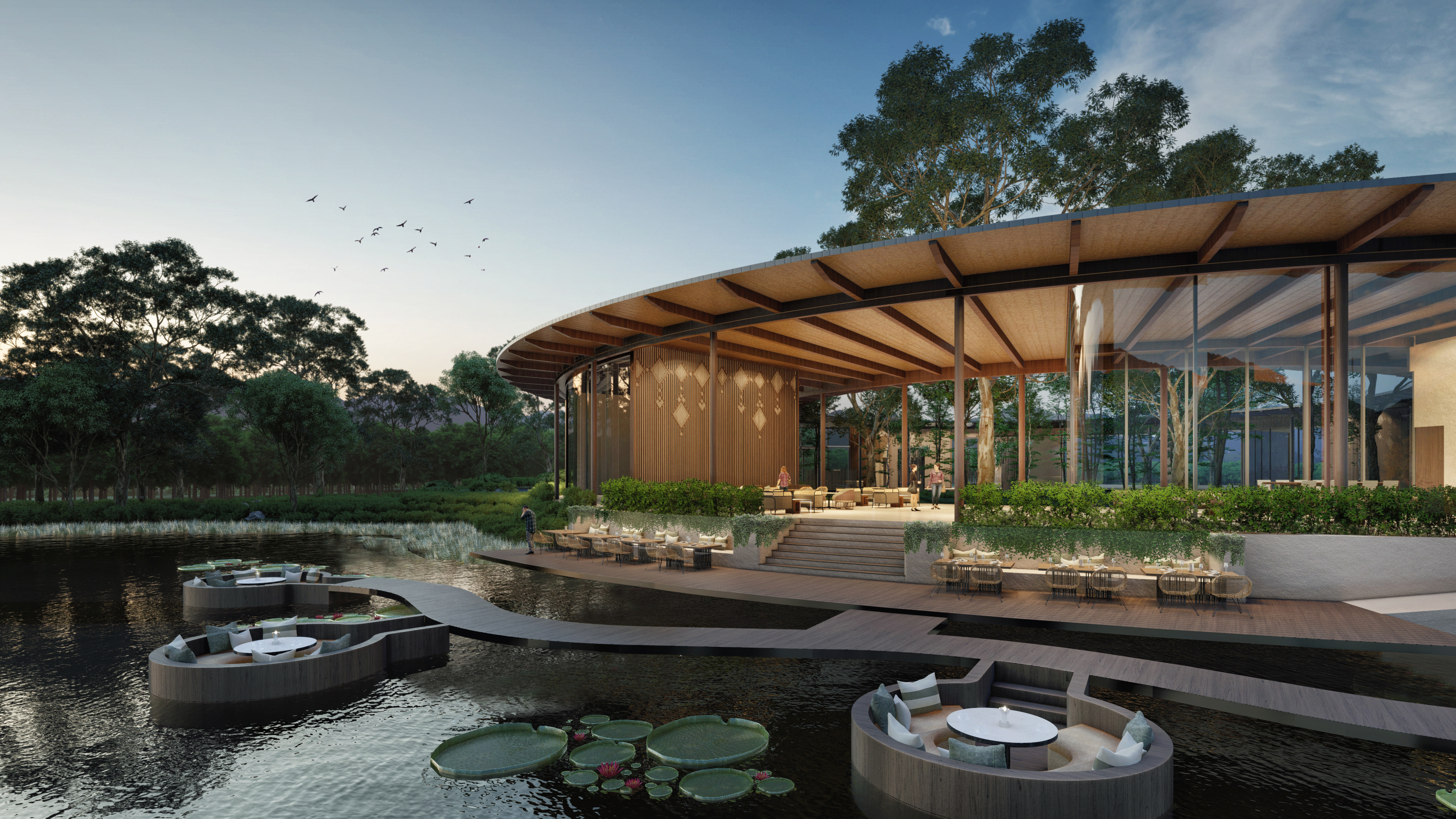Occupying 230 acres, Tri Vananda will feature 298 villas, anchored by wellness facilities specialising in alternative wellness medicine (Credit: Montara Hospitality Group)