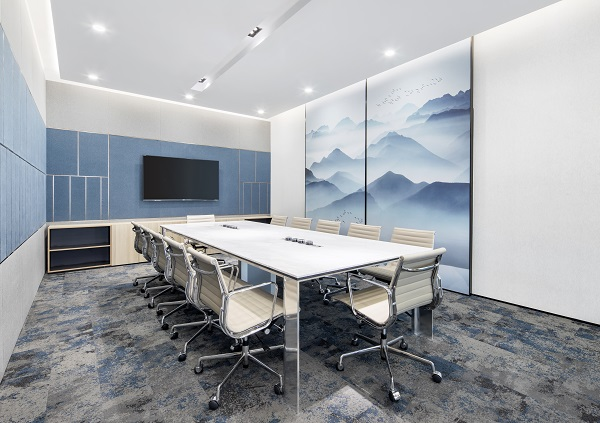 EDGEPROP SINGAPORE - One of the meeting rooms at Taikang Insurance Tower, Shanghai (Credit: Arcc Spaces) - EDGEPROP SINGAPORE