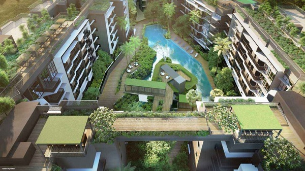 DAINTREE RESIDENCE - The two residential wings will be linked by a 330m treetop walk  - EDGEPROP SINGAPORE