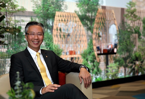 Choe believes that demand from millennials has shaped a new market in the hospitality sector (Credit: Samuel Isaac Chua/ The Edge Singapore)