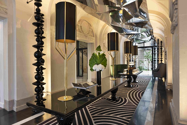 The interiors were given a modern revamp with marble and polished brass (Credit: CapitaLand) - EDGEPROP SINGAPORE