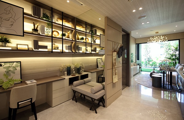 KENT RIDGE HILL RESIDENCES - A one-bedroom showflat unit at Kent Ridge Hill Residences