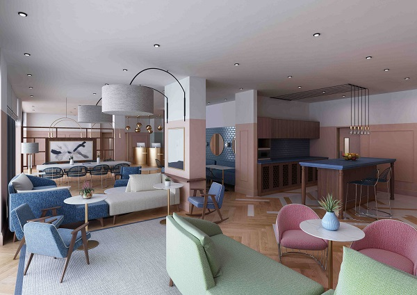 Citadines Islington London will be part of Islington Square, an integrated development nestled within a former Royal Mail sorting office, which was built in 1907 (Credit: CapitaLand) - EDGEPROP SINGAPORE