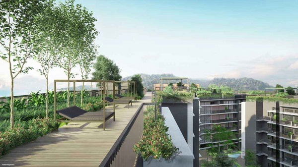 DAINTREE RESIDENCE - Additional greenery has been planned for the rooftop, which will feature a 35,000 sq ft landscaped garden - EDGEPROP SINGAPORE
