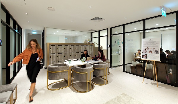 Trehaus - The office suites are tucked at the opposite end of Trehaus, just beyond the reception area (Credit: Samuel Isaac Chua/ The Edge Singapore)