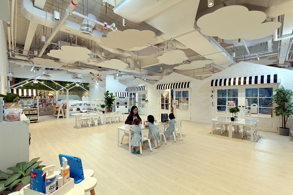 Trehaus -  almost two thirds of the space are set aside for the children (Credit: Samuel Isaac Chua/ The Edge Singapore)