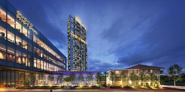 滨海名汇将联合国浩时代城的活力、便利和丰富的设施。国浩时代城是一个综合开发项目,在2022年建成后,它的总建筑面积将达到95.06万平方英尺(来源:新加坡国浩房地产)。