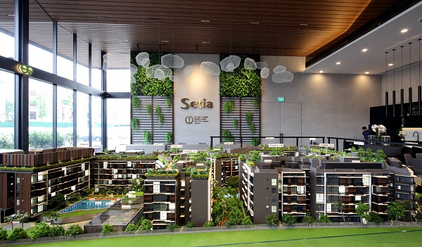 One of the sites is the Jalan Anak Bukit land plot in the Beauty World vicinity, where new launches include Daintree Residences (pictured) (Credit: Samuel Isaac Chua/ The Edge Singapore)