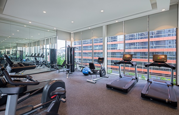 The gym at the condo - EDGEPROP SINGAPORE