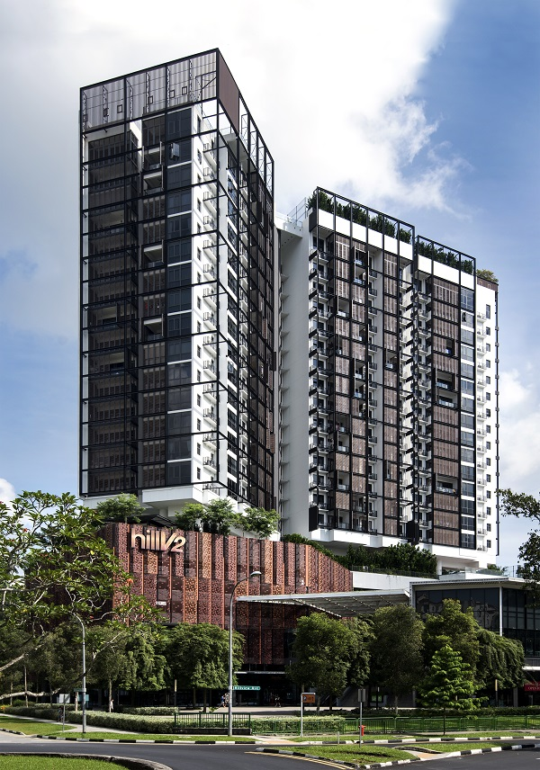 HILLVIEW - HillV2 is a mixed development along Hillview Rise that boasts a selection of F&B eateries