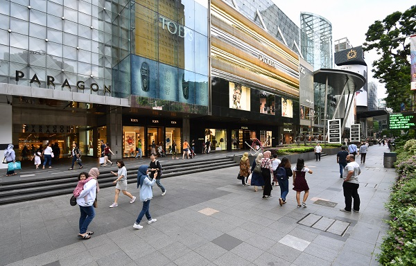 The retail sector in Asia is set to see further bifurcation as prime high street and well-located shopping centres outperform those in weaker trade areas (Credit: Albert Chua/ The Edge Singapore)