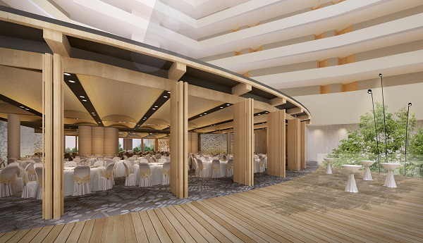 Choe likens Parkroyal Collection Marina Bay's new design to 'a different world' (Credit: Pan Pacific Hotels Group)