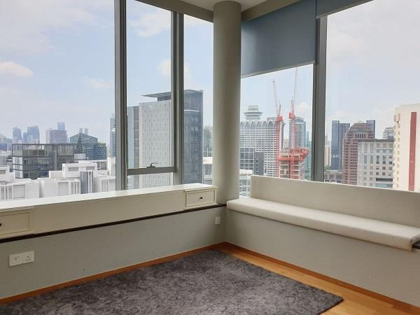 从此顶层公寓可眺望Scotts路的美景(来源: Edmund Tie)