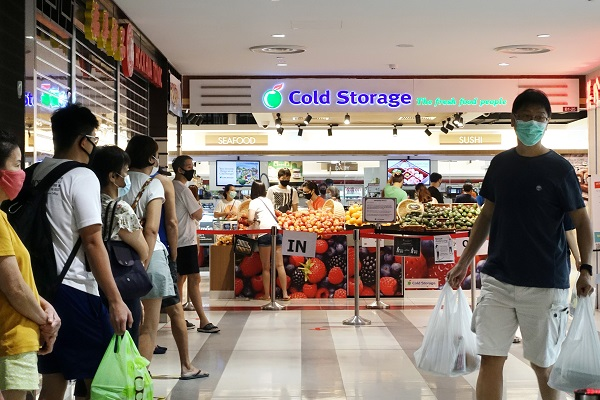 Cold Storage in Compass One - EDGEPROP SINGAPORE