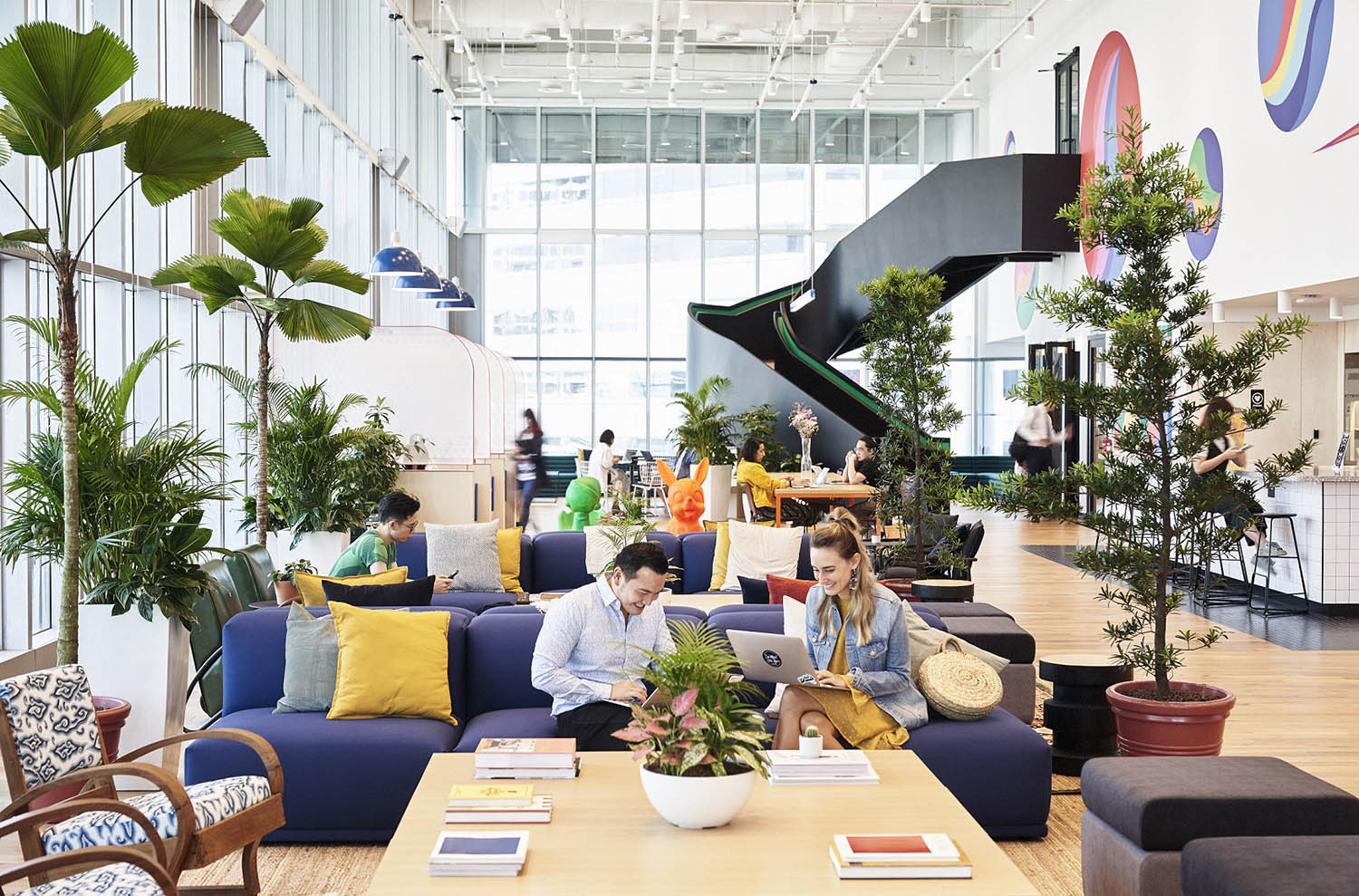 WeWork which opened its flagship space at Beach Centre on Beach Road is also an anchor tenant at Suntec City (Photo: WeWork) - EDGEPROP SINGAPORE